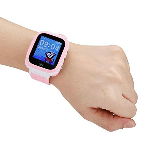 Socobeta Montre Intelligente Bracelet Intelligent Photo à Distance Écran Tactile de Batterie de Grande capacité pour Enfants pour Enfants