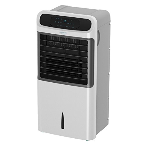 Cecotec Climatizador Evaporativo ForceSilence PureTech 6500. Doble Función Frio / Calor, gran...