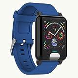Watch Uhr Smart 1.3 Farbdisplay Armband EKG EKG + PPG-Test Wasserdichte Herzfrequenz-Blutdruckuhr - Blau