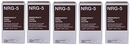 5x Notration NRG-5 Notverpflegung