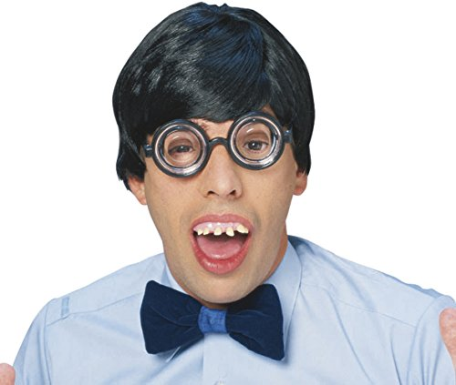 Nerd Geek Specs School Disco Glasses Joke Fancy Dress