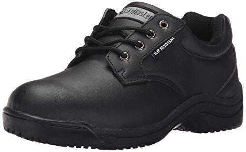 Skidbuster 5071 Men s Leather Slip Resistant Oxford Black 14 W US