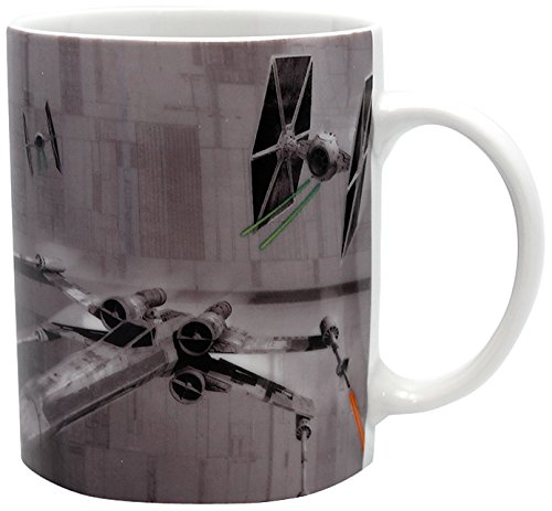 ABYstyle - STAR WARS - Taza - 320 ml - X-Wing VS Tie Fighter