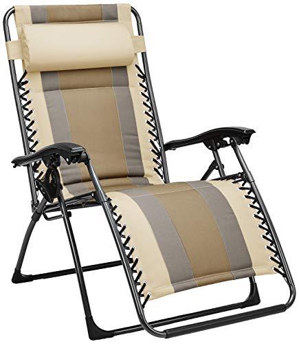 Padded Zero Gravity Chair- Tan