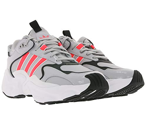 adidas Originals Magmur Runner W Plateau-Sneaker Coole 90s - Zapatillas de deporte para mujer, color gris/blanco, color Gris, talla 37 1/3 EU ✅