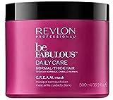 Revlon Be Fabulous Daily Care Mascarilla Cuidado Diario para Cabello Normal 500 ml