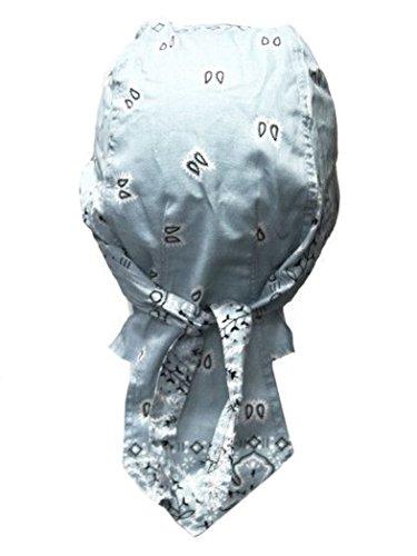 armardi b Bandana casquette Old School bleu clair blanc