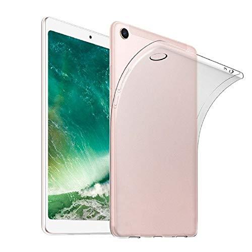 "REY - Cover in Gel TPU Trasparente per XIAOMI Mi Pad 4 Plus 10.1"", Ultra Sottile 0,33 mm, Morbido Flessibile, Custodia Silicone"