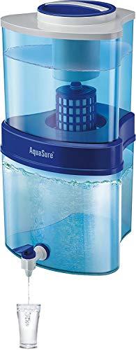 Eureka Forbes Aquasure Sampoorna 15 L Non Electrical Gravity Based Water Purifier (Blue)