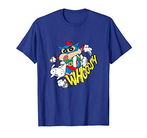 Crayon Shin-chan Action Kamen Shin-chan American comic style Camiseta