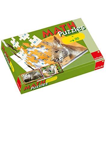 MATHpuzzles / SCHUBI MATHpuzzles: Subtraktion bis 20