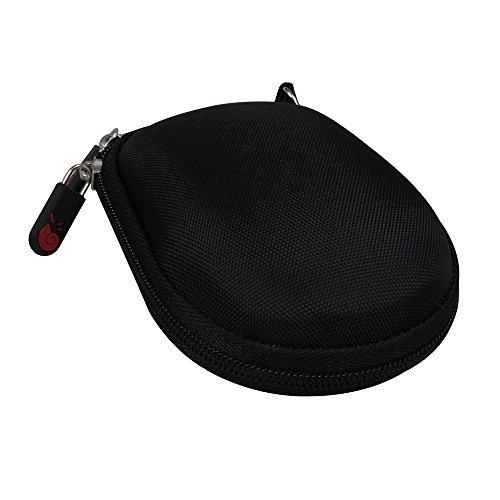 Hermitshell Travel Hart Eva Lagerung Tasche Schutz hülle Etui Tragetasche Beutel Compact Größen & karabiner für Logitech MX Anywhere 1 2 Gen Wireless Mobile Mouse Maus