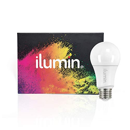 Ilumin Zwave Light Bulb RGBW | Dimmable Color Smart LED Bulb | Works with SmartThings | Z-Wave Plus with Built in Repeater | Powered by Inovelli