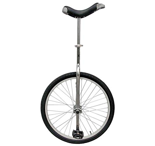 Review Of Fun 24 Inch Wheel Chrome Unicycle with Alloy Rim (Renewed)