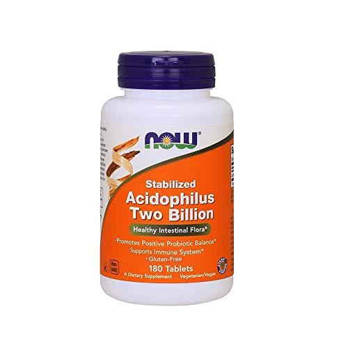 NOW Acidophilus Two Billion - 180 Tablets