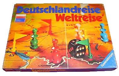 Ravensburger Deutschlandreise Weltreise Spiele