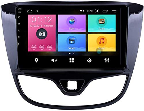 Android 9.0 Navegador GPS para Coche Autoradio para Opel Karl 2017 2018 2019 Reproductor Multimedia 9 Pulgadas Pantalla Táctil Soporte Enlace de Espejo Bluetooth WiFi,WiFi 2g+32g dsp