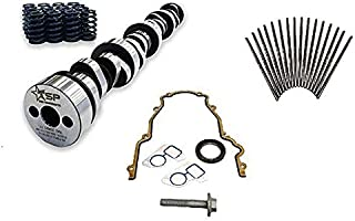 Texas Speed TSP Stage 3 High Lift Vortec Truck Camshaft 4.8 5.3 6.0 Includes Spring Set, Pushrods and Gasket Kit(Camshaft, Spring Set and Gasket Kit)