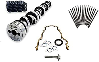 Texas Speed TSP Stage 4 High Lift Vortec Truck Camshaft 4.8 5.3 6.0 Includes Spring Set, Pushrods and Gasket Set (Camshaft, Spring Set and Gasket Kit)
