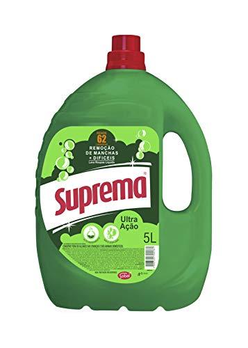 Lava Roupas Ultra Ação 5L, Suprema, Verde