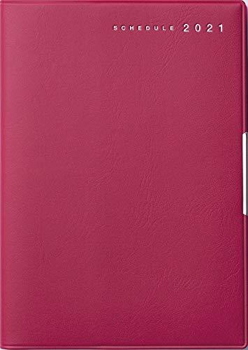 高橋 手帳 2021年 B6 ウィークリー フェルテ 12 赤 No.242 (2020年 12月始まり)