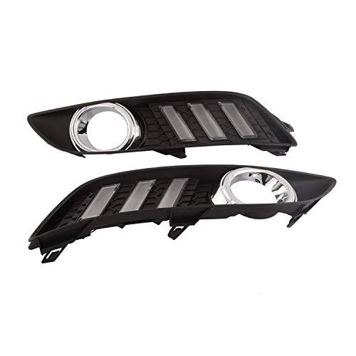 Genius Gn-7306 lumière de jour Running Light LED DRL kit brouillard Jour lampe, Lot de 2