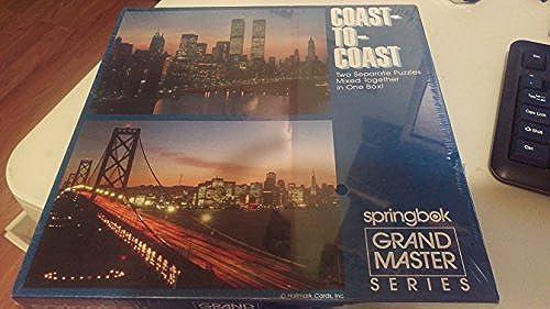 Nuevos productos de artículos novedosos. Springbox Grand Master Series Coast Coast Coast to Coast. by Springbok  precios mas bajos