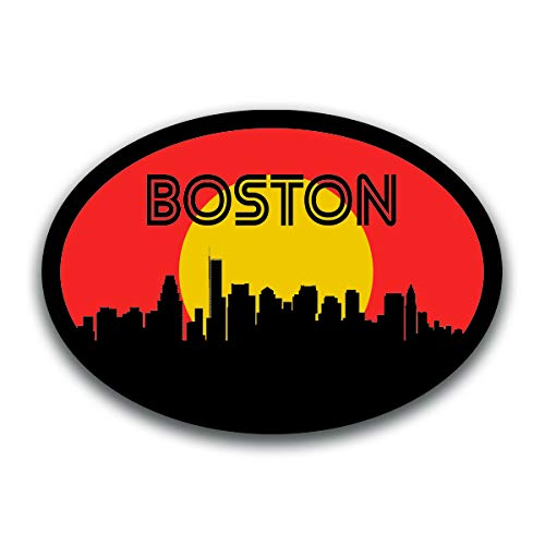 boston skyline decal - 5