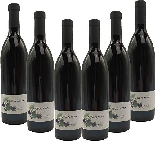 ALODIA Sin Sulfitos 2018. D.O. Somontano. 6 botellas 75 cl.