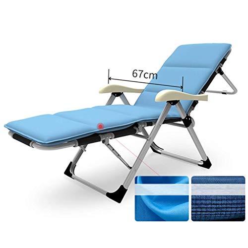 Yuany Klappbare Sonnenliege Deck Klappbarer Liegestuhl Garten Liegender Gartenstuhl , Solarium mit Abnehmbarer Beinstütze Liegende Kopfstütze (Maße: 8)