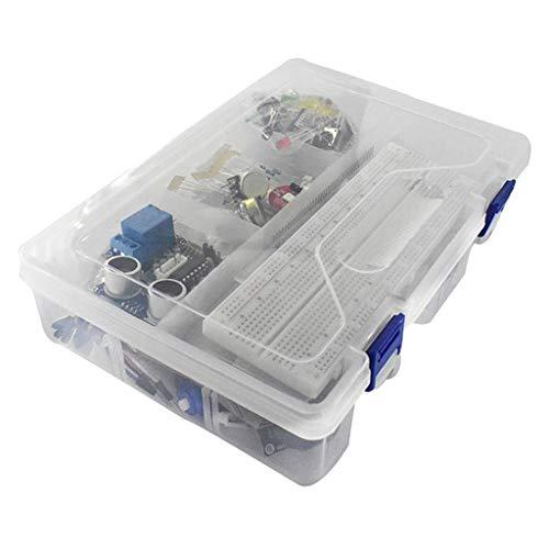 #N/A Starter Kit für mit Breadboard, Sensor, USB Kabel, Display, Widerstände, Jumper Drähte und Jumper Drähte Sets