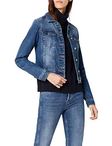 ONLY Damen Onlnew WESTA DET.Jacket PIM4203 DNM NOOS Jacke, Blau (Medium Blue Denim), 42