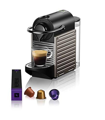 Nespresso Krups Pixie XN304T - Cafetera monodosis de cápsulas Nespresso,...