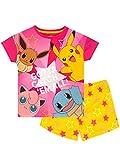 Pokemon Mädchen Schlafanzug Mehrfarbig 152