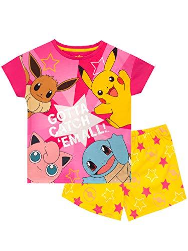Pokemon Pijamas para Niñas Multicolor 11-12 años
