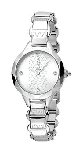 Just Cavalli Reloj Analógico para Mujer de Cuarzo con Correa en Acero Inoxidable JC1L033M0015