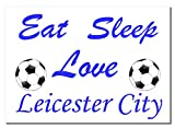 Poster Leicester City Football Club, A3, ungerahmt, Sport,