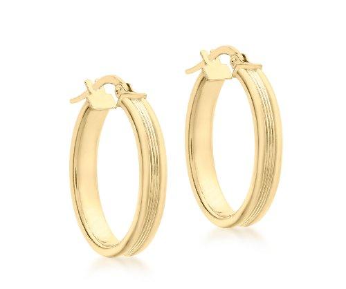 Carissima Gold Damen - Ohrringe 9 k (375) Rundschliff Diamant 1.53.2119