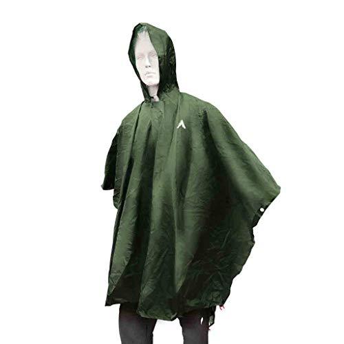 CHULLANKA Poncho TARP Ultra-Light Vert Accessoires Textile Vêtements randonnée Rando/Camping