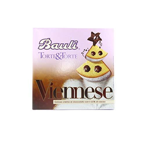 TORTA VIENNESE BAULI 375 GRAMMI - Golosa crema di cioccolato con il 60% di cocco