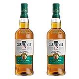 The Glenlivet - Whisky de 12 años, 2 Unidades, Alcohol, 40%, 2 x 700 ml