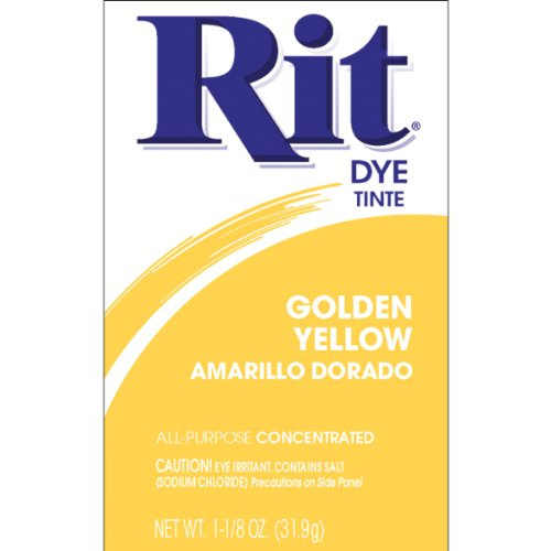 Rit Dye Powder-golden Yellow