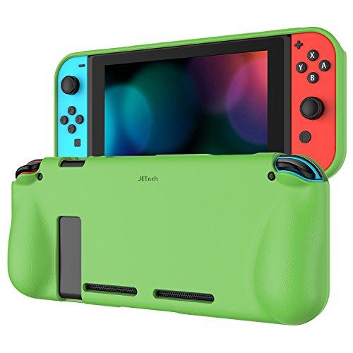JETech Funda para Nintendo Switch 2017, Carcasa de Protección, Anti-Choques Arañazo, Verde