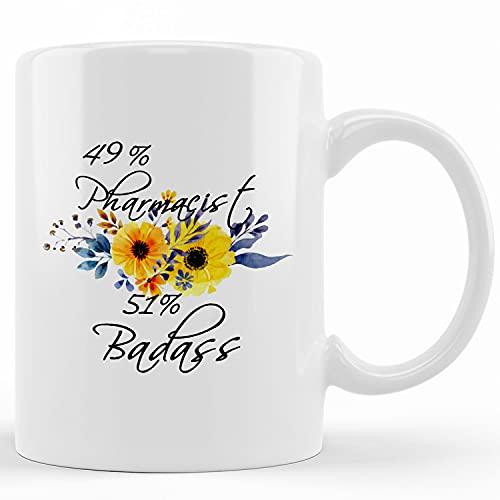 Personalized Pharmacy Coffee Mug, Pharmacy Doctor Prescription, Gift For Doctor, Rx Graduation Mug, Pharmacist Student, Pharmacist Grad Gift, Ceramic Novelty Coffee Mugs 11oz, 15oz Mug,