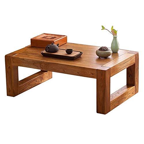 Lamyanran Tavolino Vintage Tavolino Garden Piccolo Tavolo Quadrato da Letto Comodino Study Desk (Colore: Brown, Dimensione: 70 * 45 * 30cm) (Size : XL)