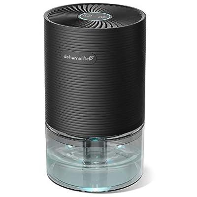 AUZKIN Dehumidifier 2200 Cubic Feet (215 sq ft) Small Dehumidifier Portable and Quiet Dehumidifiers for Basements, Home, Bedroom, Bathroom, Garage, Wardrobe, RV by