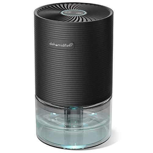 UGHEY Deshumidificador, 750 ml, 7 Colores LED, Apagado Automático, Portátil Antihumedad y Antiolor, Ahorro de Energía, Silencioso,para Hogar, Armarios, Habitación, Baño, Cocina, Garaje