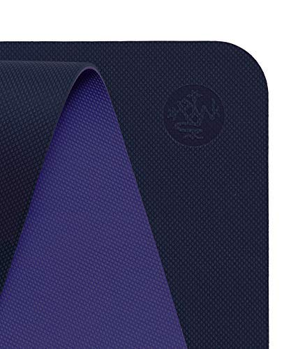 Manduka Begin Yoga Mat – Premium 5mm Thick Yoga Mat with Alignment Stripe. Reversible, Lightweight with Dense Cushioning for Support and Stability in Yoga and Pilates.