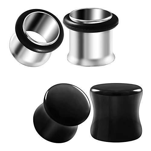 00 stainless steel plugs - 9
