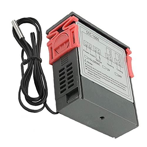 STC-1000 Temperatura Controlador de pantalla del microordenador Digitales 110V-220V del regulador de temperatura de precisión Instrumento de medición de Industria práctica